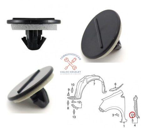 Patent Toyota kerékjárati dobbetét rögzítő