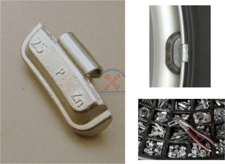 Felüthető keréksúly acélfelnire cink   5 gr