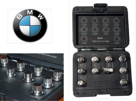 KERÉKŐR KULCS KLT BMW 10RÉSZES (AT6050A)