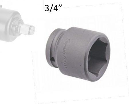 "Gépi dugókulcs fej 3/4""  17 mm"